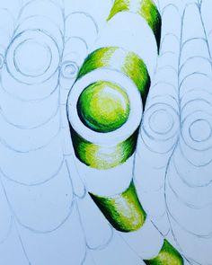 op art tubes colorwheel Wooley (Art Ed Central)