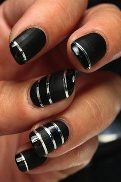Nice 7 Striping Tape Nail Art http://www.designsnext.com/?p=32853