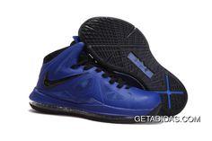 the latest b5e09 77acf Lebron 10 X Navy Blue Black TopDeals, Price   87.92 - Adidas Shoes,Adidas  Nmd,Superstar,Originals