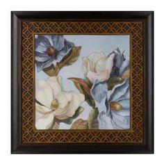 Blue Magnolias I Framed Art Print | Kirklands