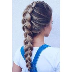 4b1a79e6e3a1f2c06ee1836cc462ca26--french-dutch-braid-french-plaits.jpg... ❤ liked on Polyvore featuring hair