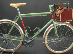 Two wheel handmade beauty ready for the road