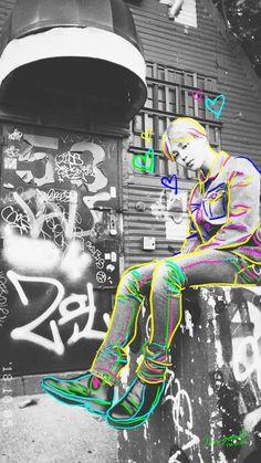Bts Jimin Graffiti Bangtan Wallpaper Lockscreen Iphone