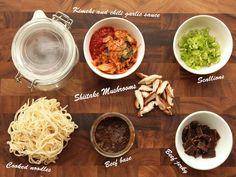 DIY cup of noodles