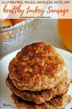 Breakfast is the most important meal of the day. Making your own turkey sausage is not only better for you, but will save you money. This is a super easy, super tasty, healthy gluten-free recipe for turkey sausage that will be perfect for the Paleo, Turkey Breakfast Sausage, Homemade Breakfast Sausage, Chicken Breakfast, Whole 30 Breakfast, Paleo Breakfast, Breakfast Recipes, Breakfast Cereal, Breakfast Ideas, Breakfast Gravy