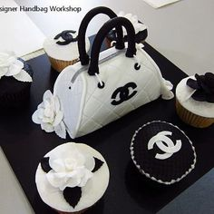 ❤ Chanel Cake