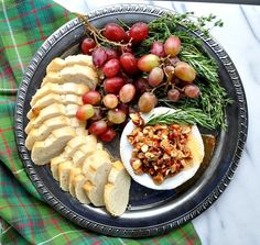 An easy Honey Almond Baked Brie is the perfect holiday appetizer!