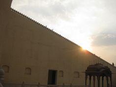 From the interiors of Hawa Mahal, Jaipur