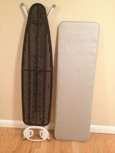 converting a regular ironing board to a quilter's ironing board.