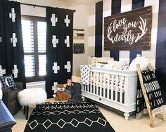 Baby Boy Buffalo Check Plaid Nursery