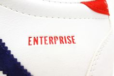 Bob Wolf Super Pro Enterprise vintage sneakers embossed logo detail @ The Deffest Enterprise Model, Adidas Country, Vintage Sneakers, Happy 4 Of July, Embossed Logo, Adidas Stan Smith, Adidas Sneakers, Wolf, Stripes