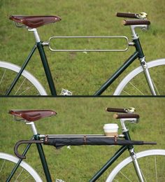 Awesome Custom Top Bar To Strap Things To Your Bike!