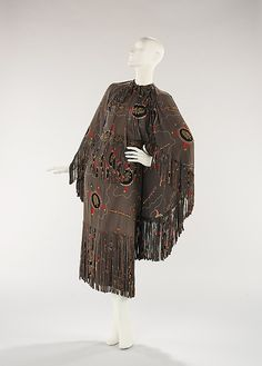 Ensemble Gilbert Adrian (American, Naugatuck, Connecticut 1903–1959 Hollywood, California) Date: ca. 1948 Culture: American Medium: synthetic Dimensions: Length at CB (a): 52 in. (132.1 cm) Length at CB (c): 45 in. (114.3 cm) Credit Line: Brooklyn Museum Costume Collection at The Metropolitan Museum of Art, Gift of the Brooklyn Museum, 2009; Gift of Arturo and Paul Peralta-Ramos, 1955