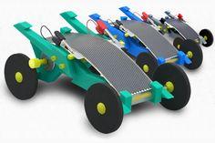 Volta Racer: Voiture Miniature à Energie Solaire pour Enfant