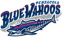 Silver Airways Goes Woohoo for Pensacola Blue Wahoos! Leading Airline of Gulf Coast Region Becomes Official Airline of Pensacola Blue Wahoos. Minor League Baseball, Major League, Milb Teams, Sports Team Logos, Pensacola Florida, Florida Girl, The Outfield, Great Logos, Minnesota Twins