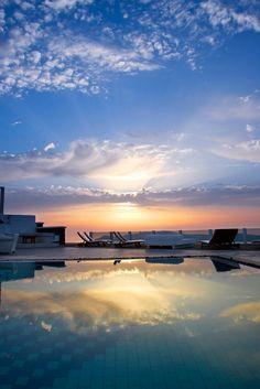 Blue Sunset, Imerovigli, Santorini