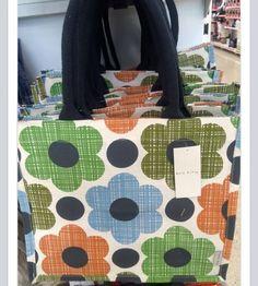 196f08e97c SS2015. VintageVintage · Orla Kiely Tesco Bags · BNWT Tesco Orla Kiely  Abacus Flower Jute Shopping ...