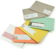 Envelopes and gift c