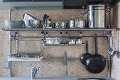 イケアハック: GRUNDTALキッチンラックを壁に固定せずに設置する方法   Life Design Edit