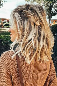 simple, trendy braids for short hair 2019 - Hairstyle Fi.- simple, trendy braids for short hair 2019 – Hairstyle Fix simple, trendy braids for short hair 2019 – Hairstyle Fix - Trending Hairstyles, Pretty Hairstyles, Braided Hairstyles, Hairstyle Ideas, Hairstyle Short, Teenage Hairstyles, Bandana Hairstyles, Hairstyles 2018, Medium Hairstyles