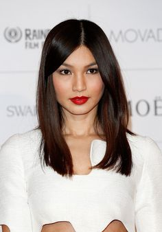 Gemma Chan's Long Center Part - The Most Gorgeous Hairstyles From Our Favorite Celebrities - Photos