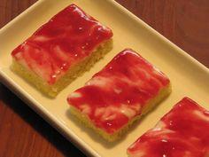 Gluten- og laktosefri hindbær mazarinkage