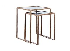Hammered Nesting Tables by Artistica Home Furnishings
