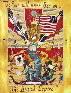 TEN HAAF PROJECTS, AMSTERDAM - Andrew Gilbert : The Sun will Never set on the British Empire - The Beast Awakens - March 4th > April 8th, 2017 http://mpefm.com/mpefm/modern-contemporary-art-press-release/holland-art-press-release/ten-haaf-projects-amsterdam-andrew-gilbert-the-sun-will-never-set-on-the-british-empire-the-beast-awakens
