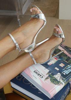 Comfy Heels, Cute Heels, Pretty Heels, Beautiful High Heels, Casual Heels, Stilettos, Stiletto Heels, Pumps, Womens Silver Heels