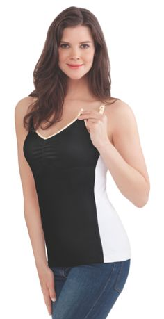 7cbe63fdc9973 Rebecca Minkoff for Bravado Designs Essential Nursing Tank Collection -  Vera and Aubrey BabyCenter.com