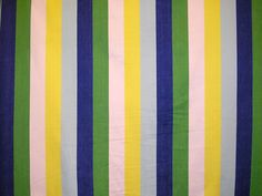 Flying Blue Striped Fabrics