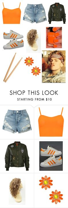 """""""Tristan Evans"""" by fshioncrazy ❤ liked on Polyvore featuring 3x1, WearAll, Pilot, adidas, Kate Spade and Steinbach"""