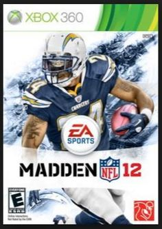 13) Charlie had grown up playing as his favorite Chargers in the arcades with NFL Blitz.  He was understandably excited as technology progressed to modern game consoles with games like EA's Madden series.  He loved EA's marketing where they let the public vote on which team should make it to the cover of the game each year.  Charlie made sure to get his friends and family to support the team even if they didn't play video games.