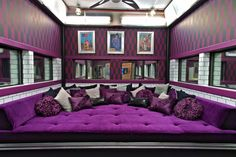 Like the movie room idea but the color is a little too dark for me