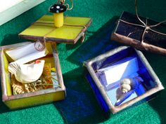 #boxes little treasure glass&pottery via zanella street market, may 2013