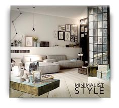 """""""Minimalist style contest"""" by barbara-gennari ❤ liked on Polyvore featuring interior, interiors, interior design, home, home decor, interior decorating and Tiffany & Co."""