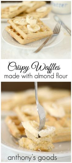 Explore Almond Flour Waffles, Crispy Almond, and more!