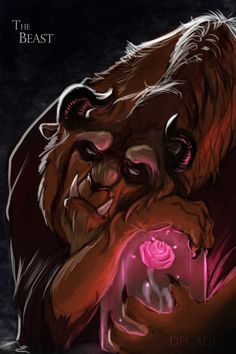 by Decadia.deviantar on The Beast from Beauty and Wondering .deviantar auf The Beast from Beauty. Disney Kunst, Arte Disney, Disney Fan Art, Disney Magic, Beauty And The Beast Art, Beauty And The Best, Beauty And The Beast Wallpaper, Beauty Beast, Disney And Dreamworks