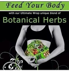 Wrapping with herbs.....does the body good!