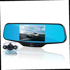 53.30$  Buy now - http://aliiz4.worldwells.pw/go.php?t=32423306432 - New 4.3 inch lcd car camera recorder full hd 1080p rearview mirror camera night vision car dvr dual lens parking mirror dvrs