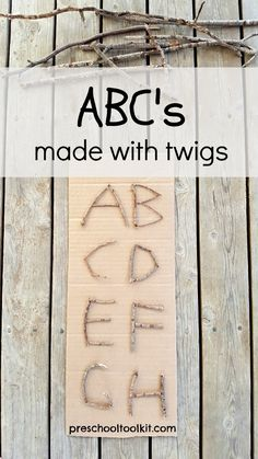 ABC's Made with Twig