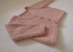 Blush Pink Baby Cardi | Flickr - Photo Sharing!