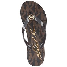 "MICHAEL Michael Kors ""Bedford"" Platform Wedge Sandals"