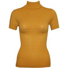 Mustard Yellow Turtleneck ❤ liked on Polyvore featuring tops, sweaters, turtle neck top, turtle neck sweater, polo neck sweater, mustard turtleneck sweater and mustard yellow top