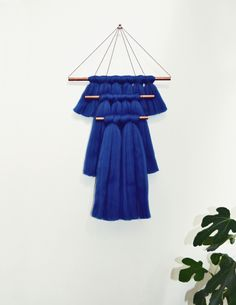 blue wallhanging