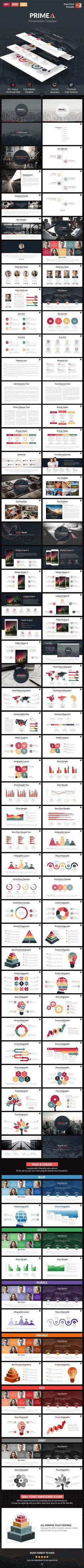 "Primea - PowerPoint Presentation Template <a class=""pintag"" href=""/explore/design"" title=""#design explore Pinterest"">#design</a> Download: <a href=""http://graphicriver.net/item/primea-powerpoint-presentation-template/11828976?ref=ksioks"" rel=""nofollow"" target=""_blank"">graphicriver.net/...</a>"