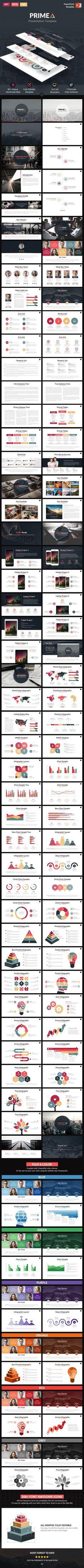"Primea - PowerPoint Presentation Template <a class=""pintag"" href=""/explore/design"" title=""#design explore Pinterest"">#design</a> Download: <a href=""http://graphicriver.net/item/primea-powerpoint-presentation-template/11828976?ref=ksioks"" rel=""nofollow"" target=""_blank"">graphicriver.net/...</a>"