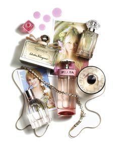 For a Perfume feature in GLAMOUR