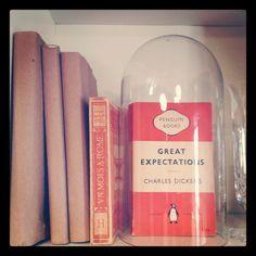 Book in a bell jar via @Sara Eriksson Eriksson Eriksson Kate Studios