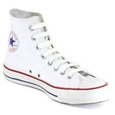 777c3fa49cb4 the base to all outfits White High Top Converse